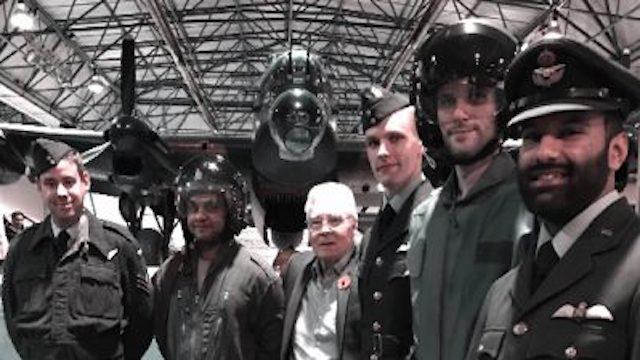 Help Ricky Valance raise a million pounds for the RAF