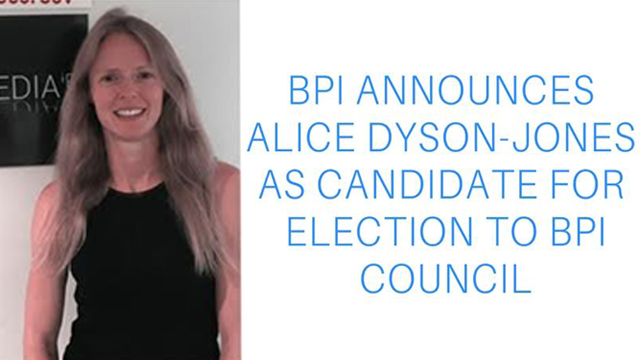 Dyson-Jones BPI Council Nomination